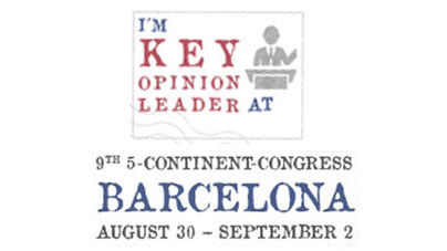 5-Continent Congress in Barcelona 2018