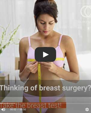 Thinking of breast surgery? Take the breast test!
