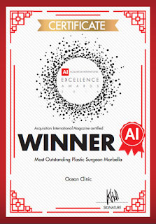 Ocean Clinic 'Most Outstanding Plastic Surgery Clinic in Marbella'