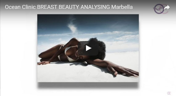 Breast Augmentation Self Beauty Analysing Video Ocean Clinic Marbella Spain