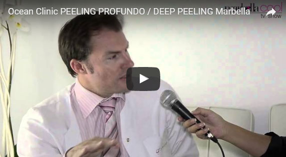 Deep Chemical Peeling 3D Animation Superficial Peels Marbella Ocean Clinic