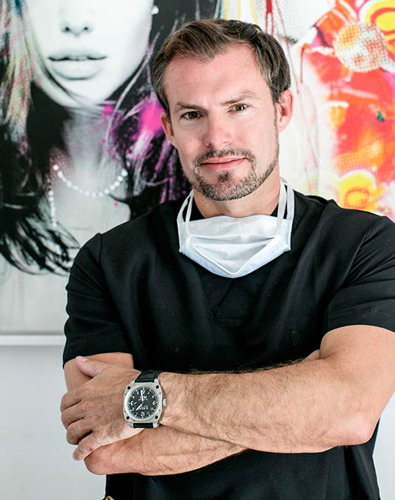 Plastic Surgeon Dr Kai O Kaye Chief Consultant and Director of Ocean Clinic Marbella