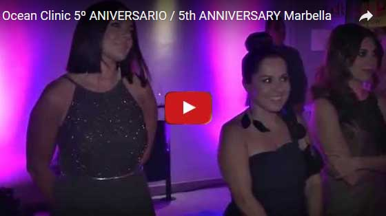 Ocean Clinic 5th Anniversary Marbella Spain