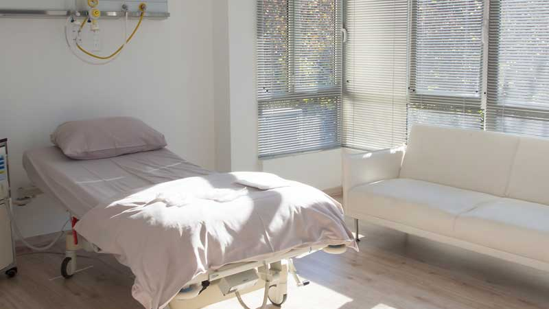 Ocean Clinic Overnight Patient Room Marbella Spain