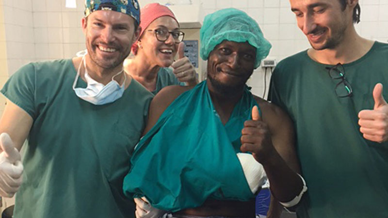 Surgery Campaign in Kenya 2017 Ocean Clinic