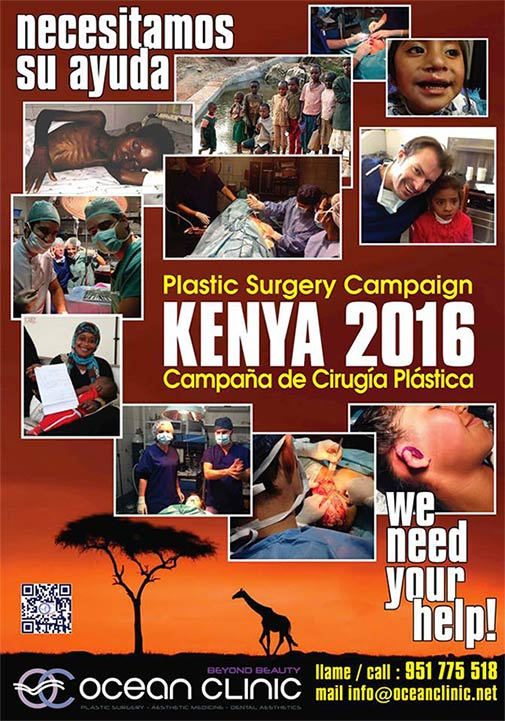 Plastic Surgery Campaign in Kenya 2016 Ocean Clinic