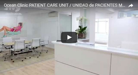Health and Beauty Clinic Video Patient Care Unit. Marbella Ocean Clinic