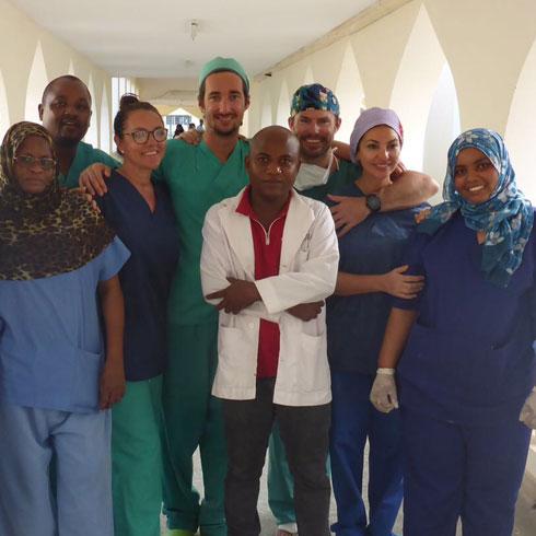 Humanitäre Einsätze Kampagne Plastische Chirurgie Kenya 2017