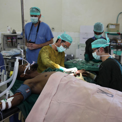 Humanitarian Missions Plastic Reconstructive Surgery Campaigns Aethiopien 2013