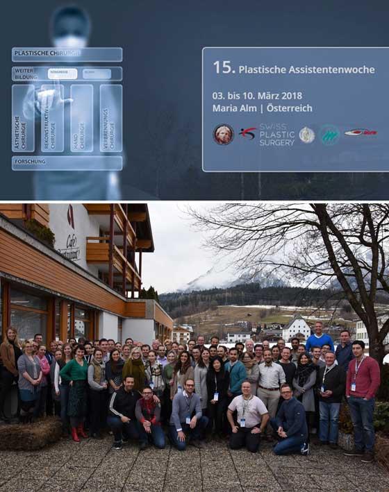 15th Plastische Assistentenwoche 2017.
