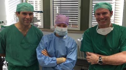 Live Surgery Workshop 2015 in Berlin.