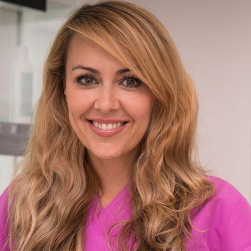 Cosmetician Ángela Conde | Ocean Clinic