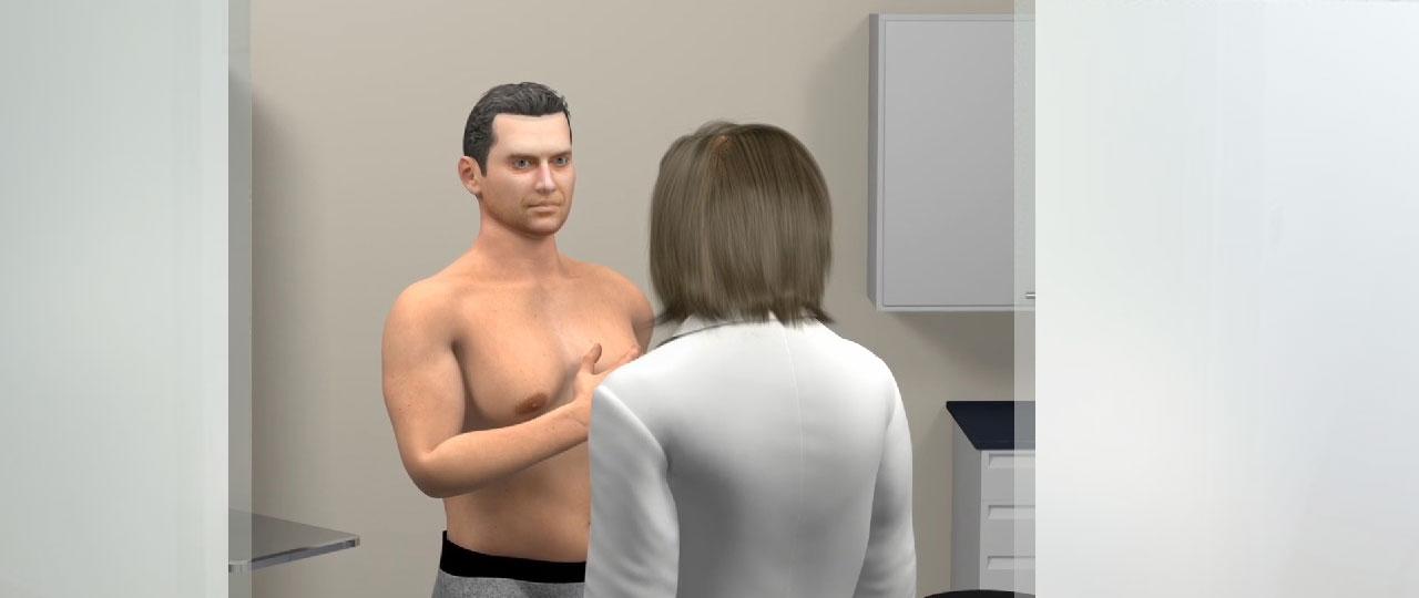 SURGERY FOR MEN 3D Animation Ocean Clinic Marbella Spain